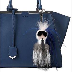 Fendi | Karlito Bag charm Karl Lagerfeld mink fur